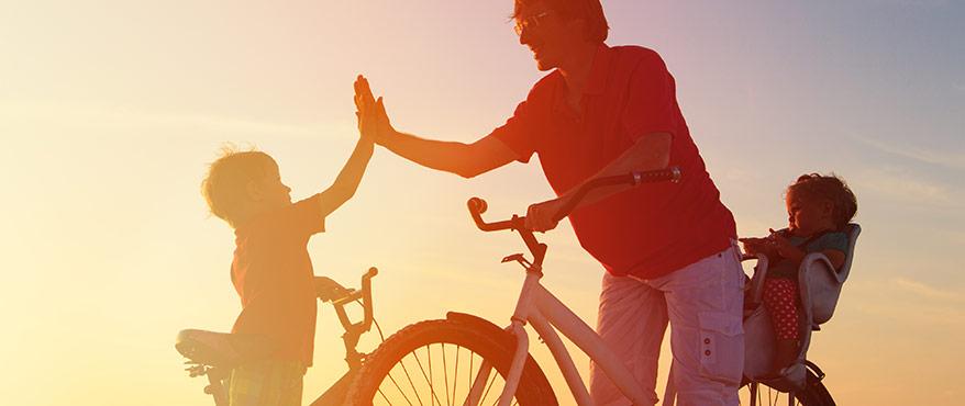 Att cykla med barn
